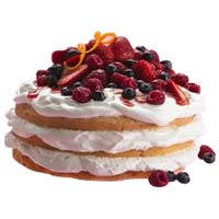 Lip-Smacking 4 Berries Torte Cake