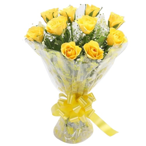 Send Yellow Roses to Japan
