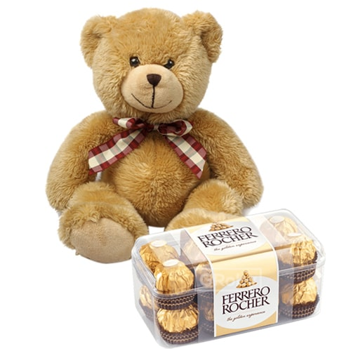 Devilishly Good Ferrero Rocher Chocolates with Teddy